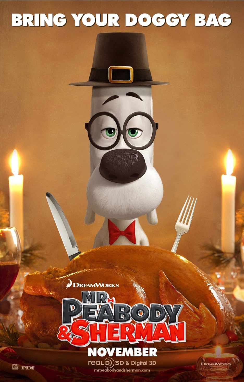 Mr. Peabody & Sherman Poster #8