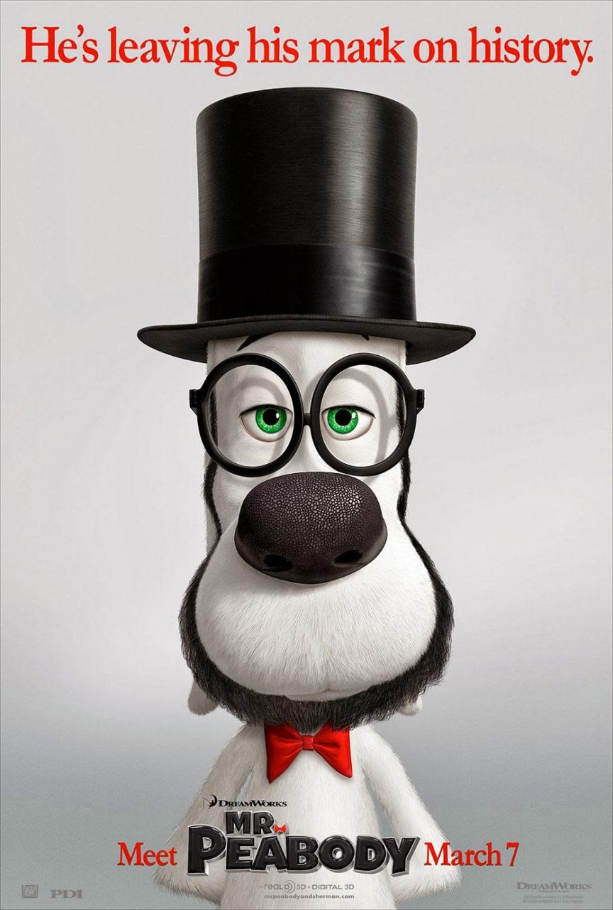 Mr. Peabody & Sherman Poster #1