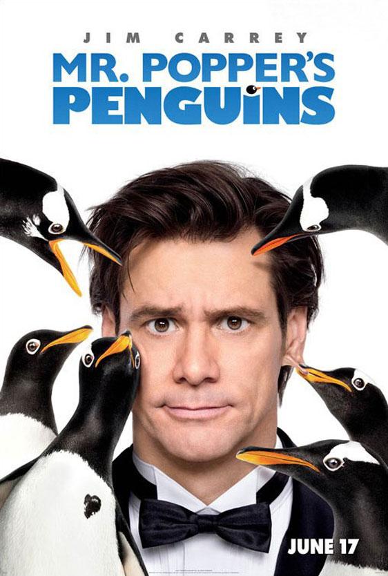 Mr. Popper's Penguins Poster