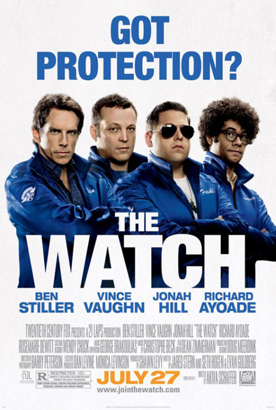 The Watch Poster #3
