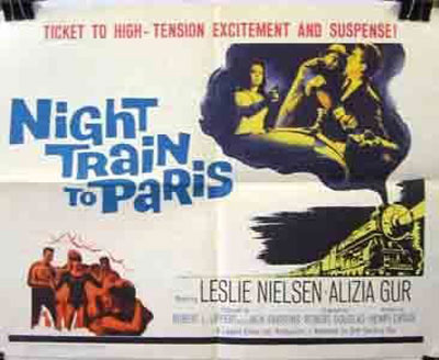 Night Train to Paris Poster