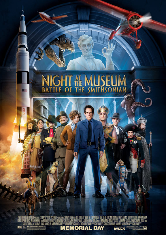 Night at the Museum: Battle of the Smithsonian Poster #3