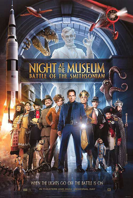 Night at the Museum: Battle of the Smithsonian Poster