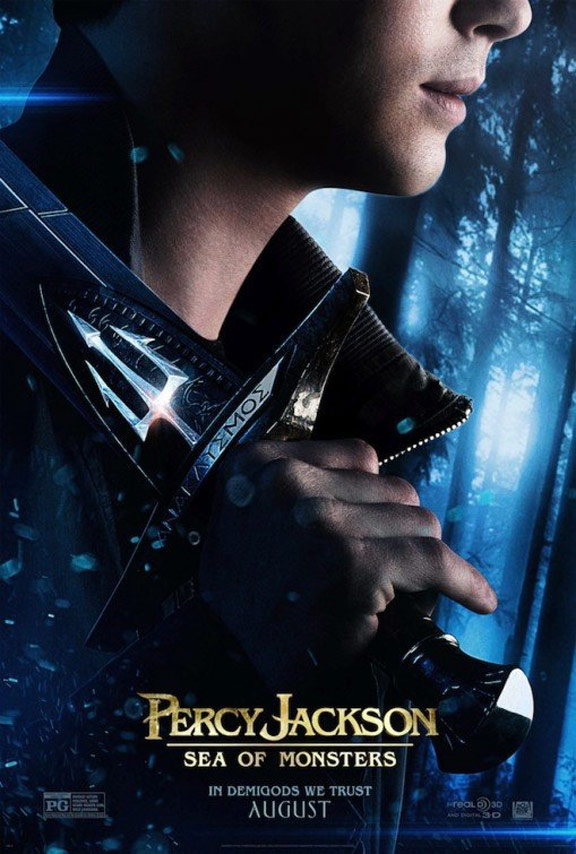 Percy Jackson: Sea of Monsters Poster #1