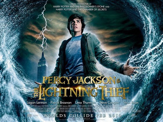 Percy Jackson & The Olympians: The Lightning Thief Poster #15