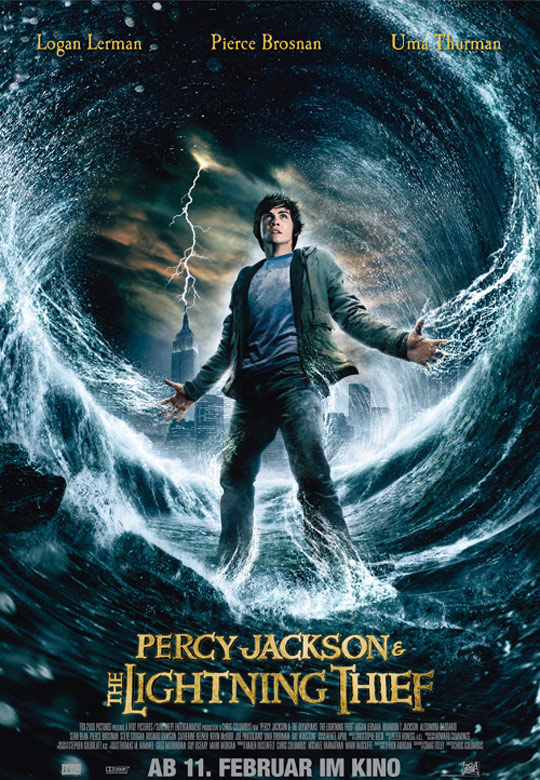 Percy Jackson & The Olympians: The Lightning Thief Poster #3
