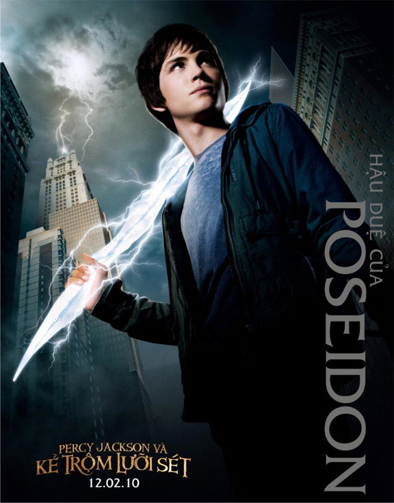 Percy Jackson & The Olympians: The Lightning Thief Poster #6