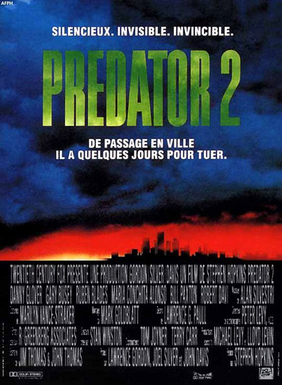 Predator 2 Poster #3