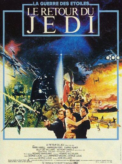 star wars episode vi return of the jedi 1983 posters traileraddict. Black Bedroom Furniture Sets. Home Design Ideas