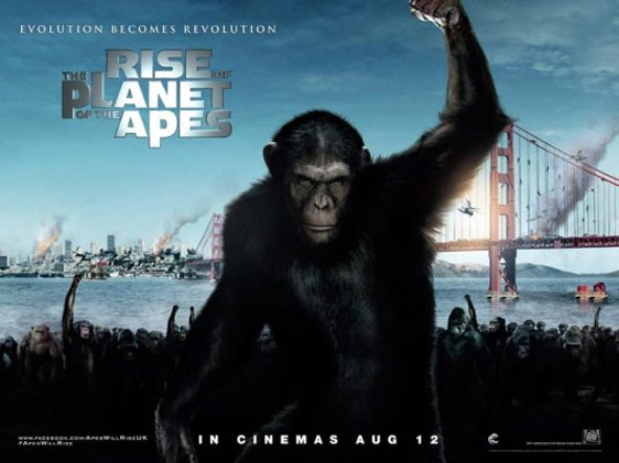 Rise of the Planet of the Apes Poster #2