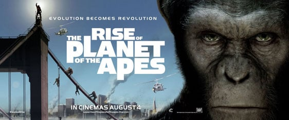 Rise of the Planet of the Apes Poster #4