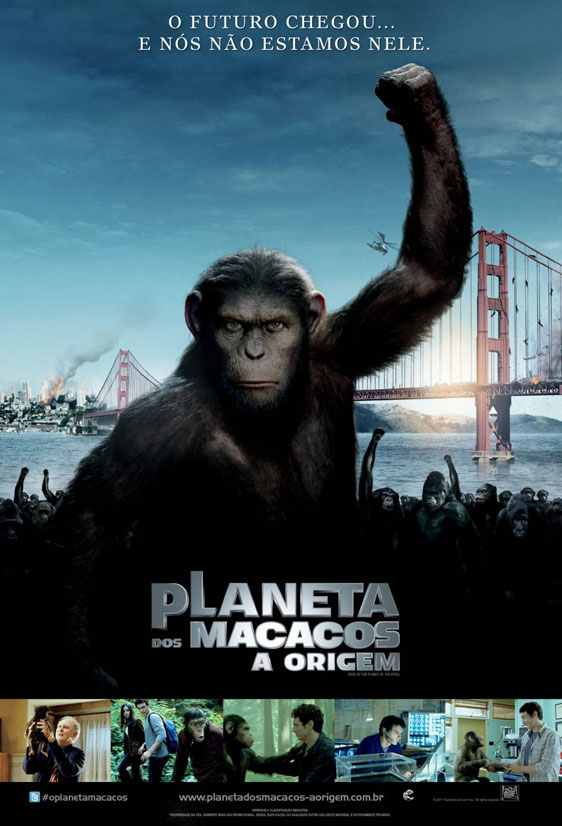 Rise of the Planet of the Apes Poster #5