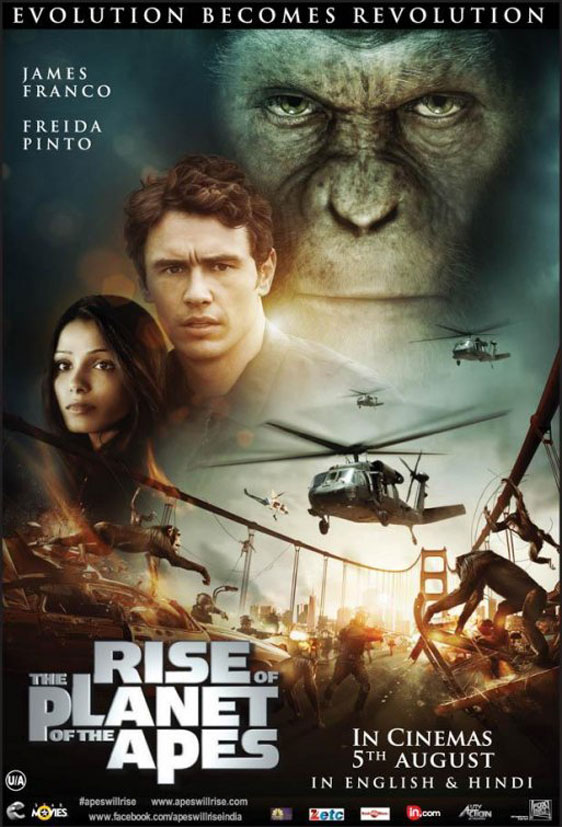 Rise of the Planet of the Apes Poster #6