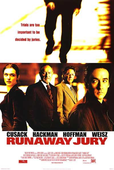 Runaway Jury Poster #1