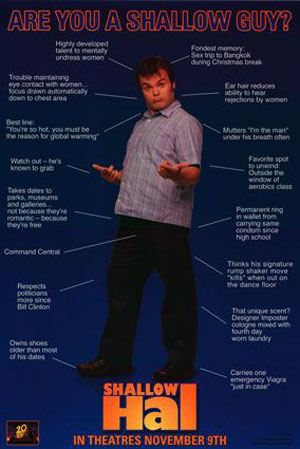 Shallow Hal Poster #2