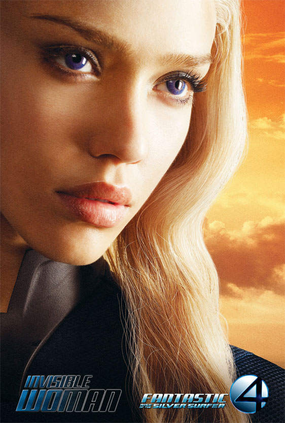 Fantastic Four: Rise of the Silver Surfer Poster #3