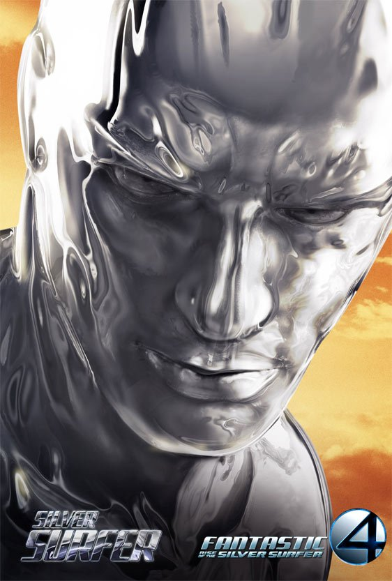 Fantastic Four: Rise of the Silver Surfer Poster #5