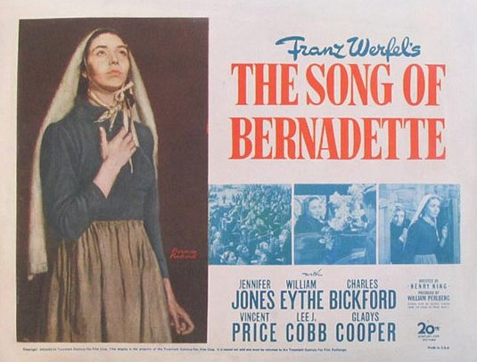 The Song of Bernadette Poster #2