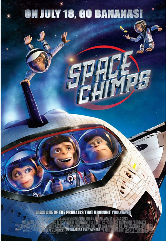 Space Chimps Poster #2