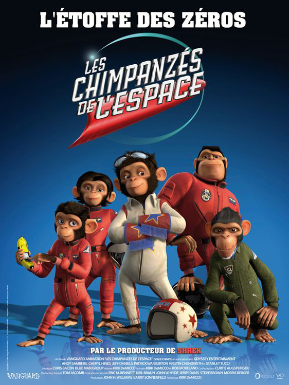 Space Chimps Poster #3