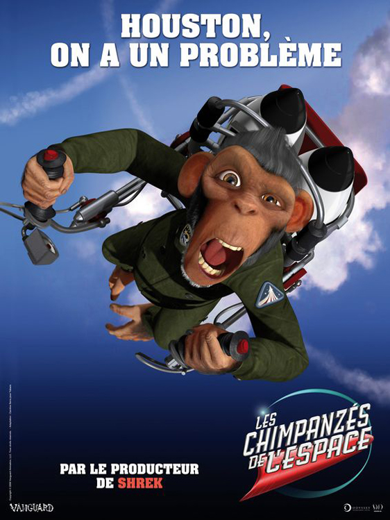 Space Chimps Poster #5