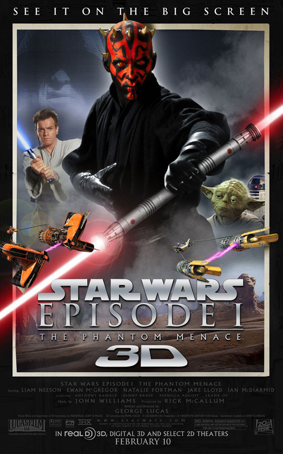 Star Wars Episode I: The Phantom Menace Poster #2