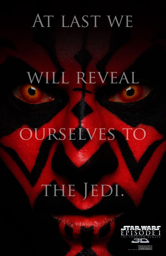 Star Wars Episode I: The Phantom Menace Poster #4