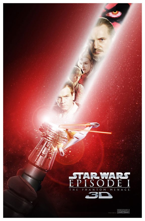 Star Wars Episode I: The Phantom Menace Poster #7