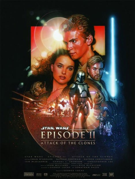 Star Wars: Episode II Attack of the Clones Poster