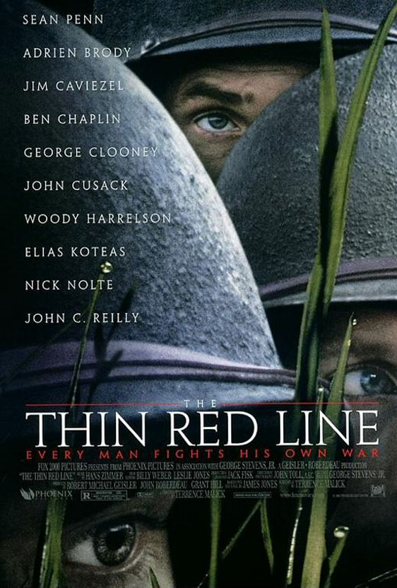 The Thin Red Line Poster #1