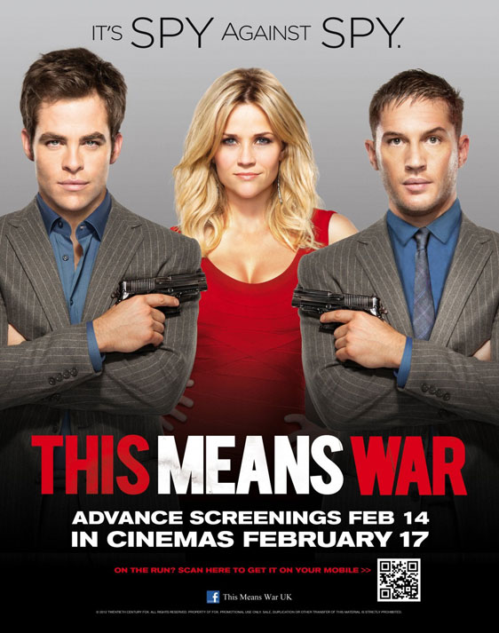 This Means War Poster #3