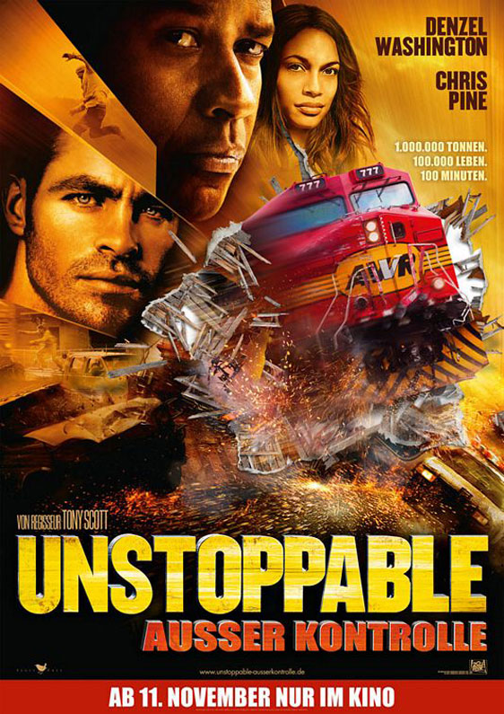 Unstoppable Poster #8