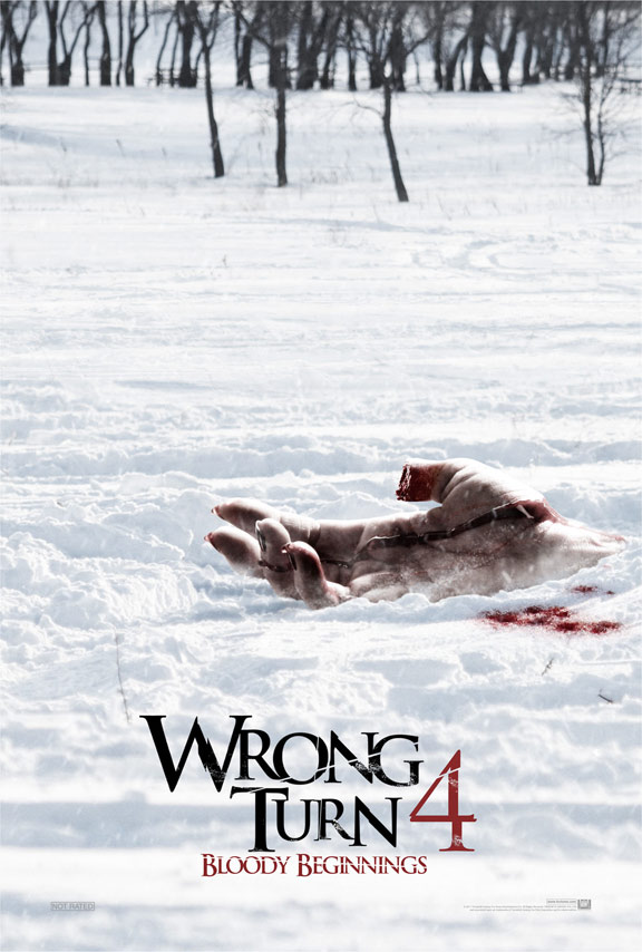 Wrong Turn 4 Poster