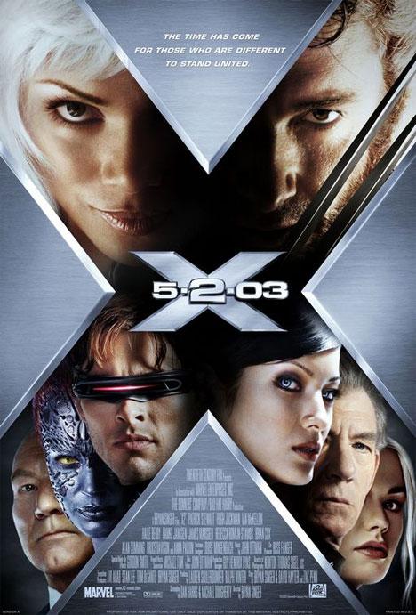 X-Men 2: X-Men United Poster #1