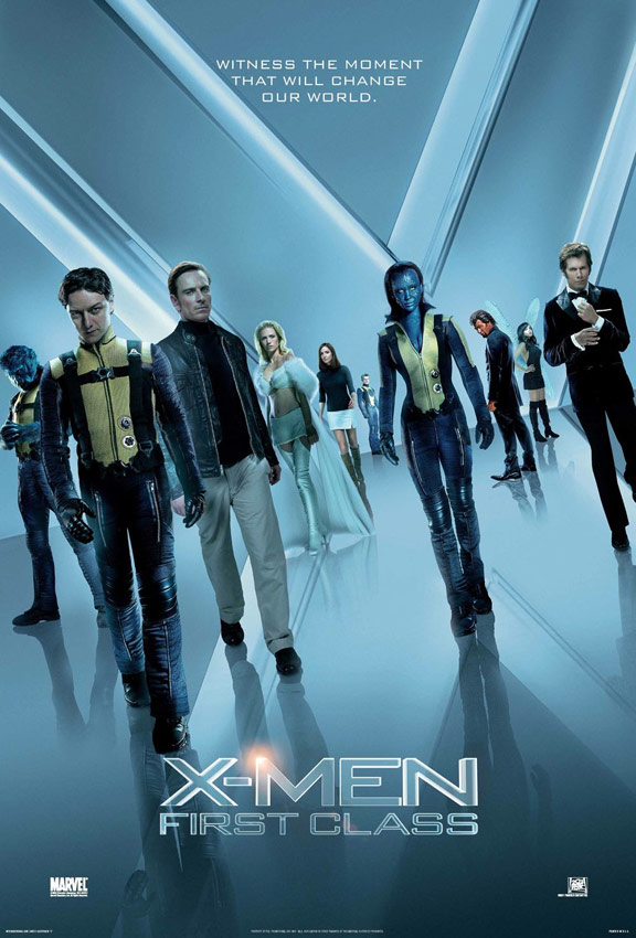 X-Men: First Class Poster #6