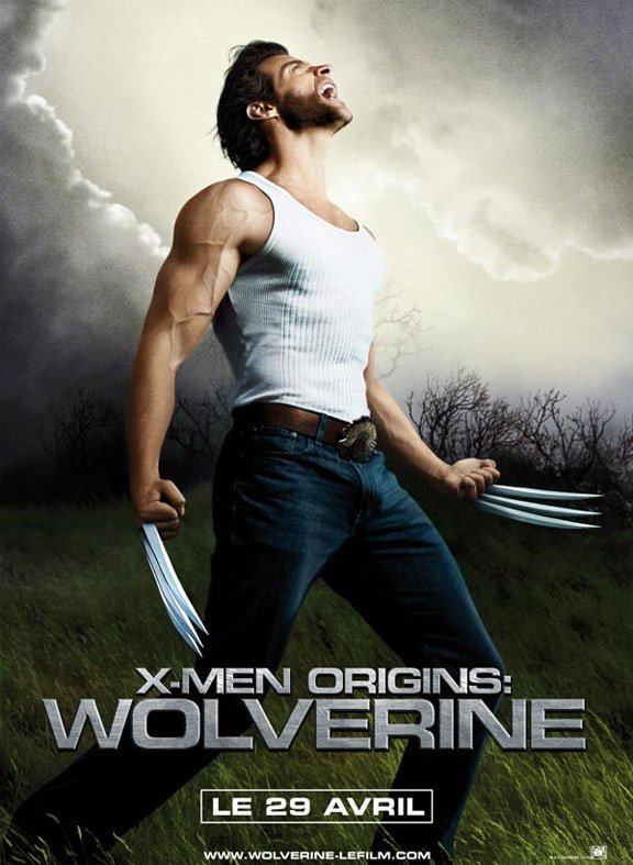 X-Men Origins: Wolverine Poster #2