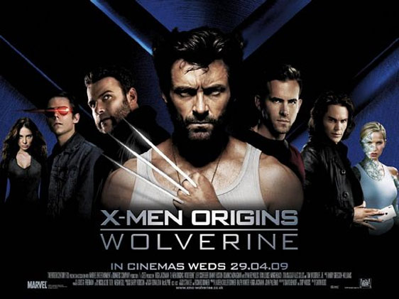 X-Men Origins: Wolverine Poster #5