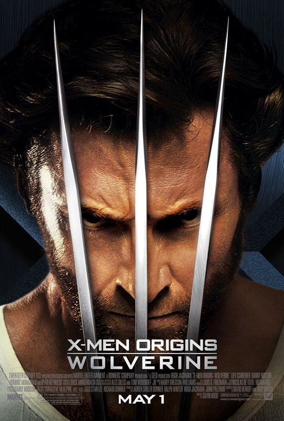 X-Men Origins: Wolverine Poster #6