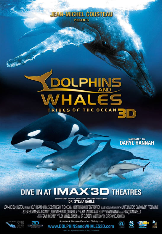 Dolphins and Whales 3D: Tribes of the Ocean Poster #1