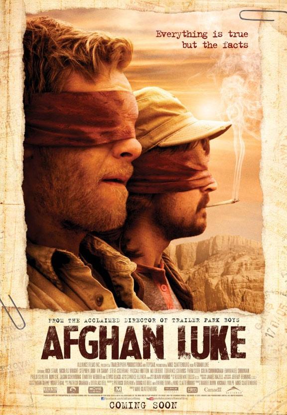 Afghan Luke Poster