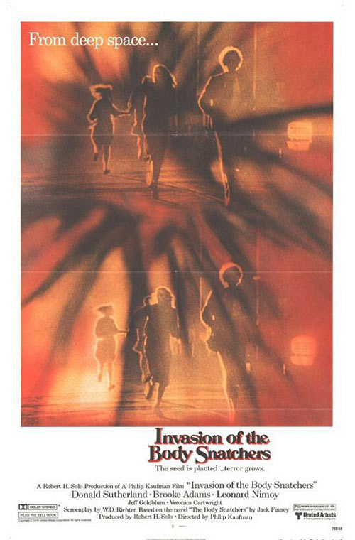 Invasion of the Body Snatchers Poster #2