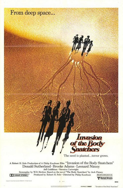 Invasion of the Body Snatchers Poster #4