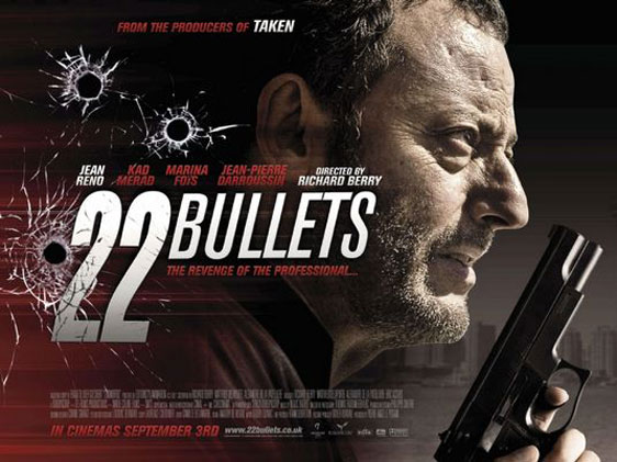 22 Bullets (L'immortel) Poster #1