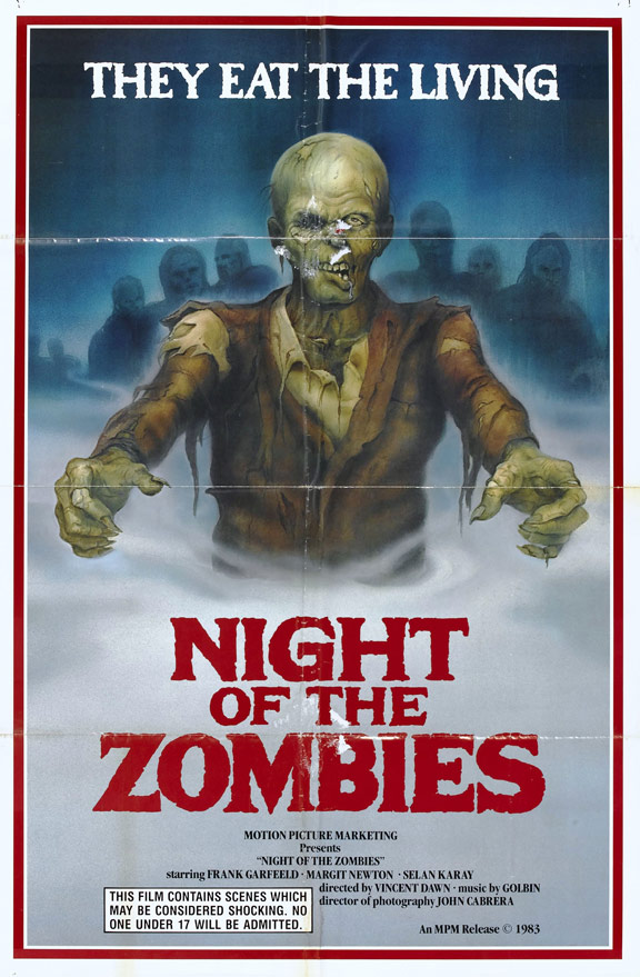 Night of the Zombies Poster #1