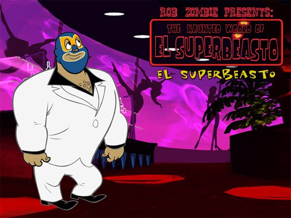 The Haunted World of El Superbeasto Poster #3