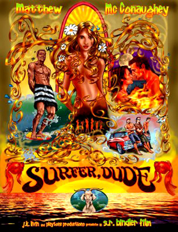 Surfer Dude Poster #1