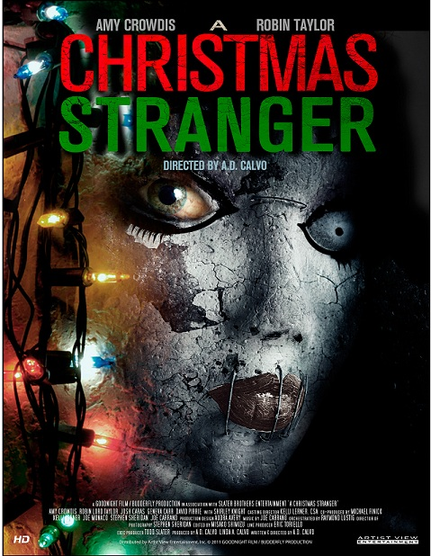 A Christmas Stranger Poster
