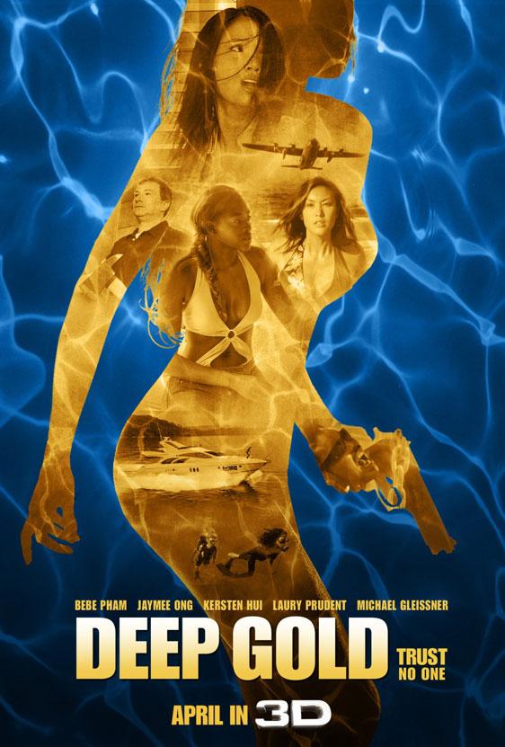 Deep Gold Poster #3
