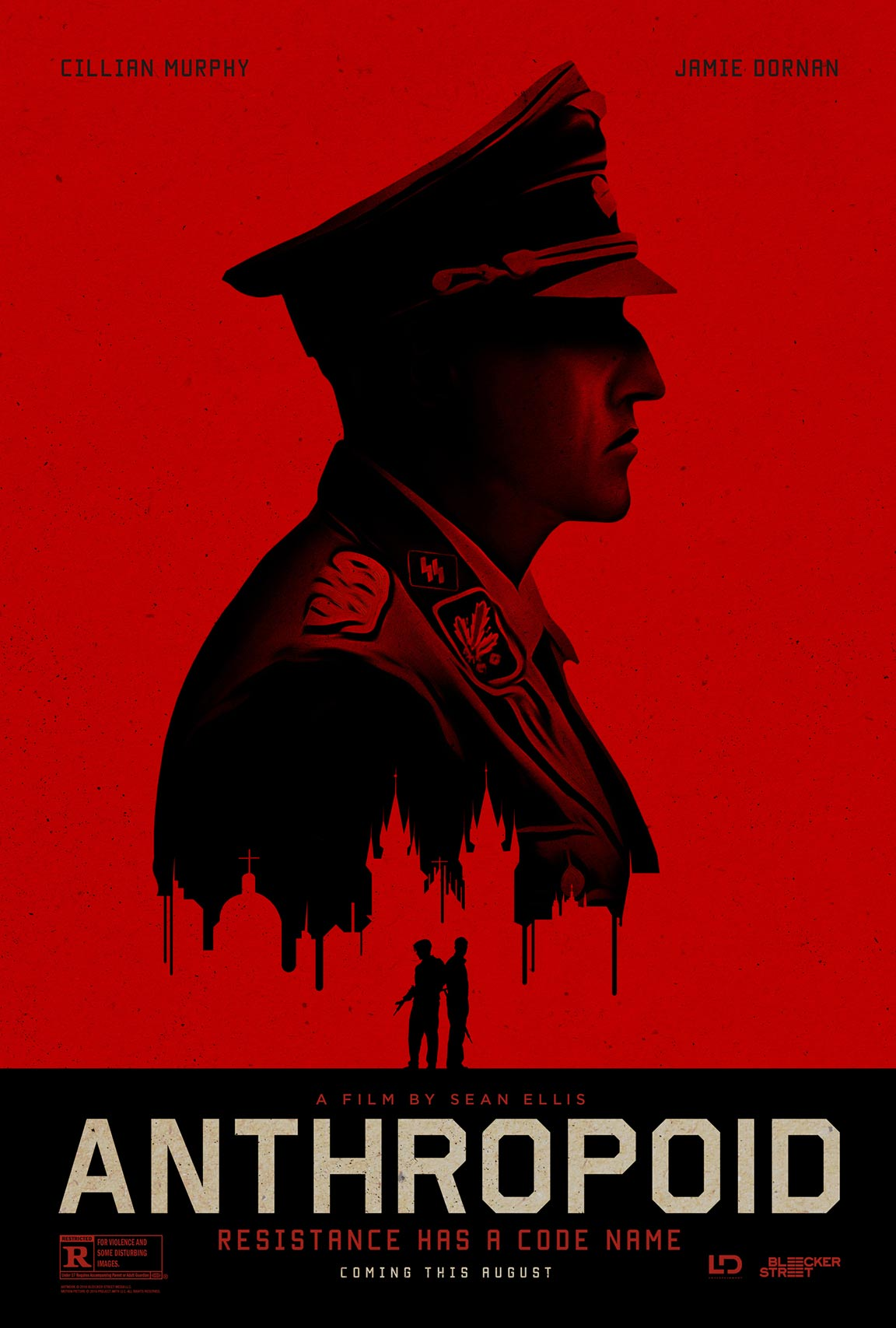 Anthropoid (2016) Poster #1 - Trailer Addict