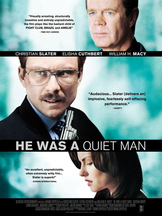 He Was a Quiet Man Poster #1